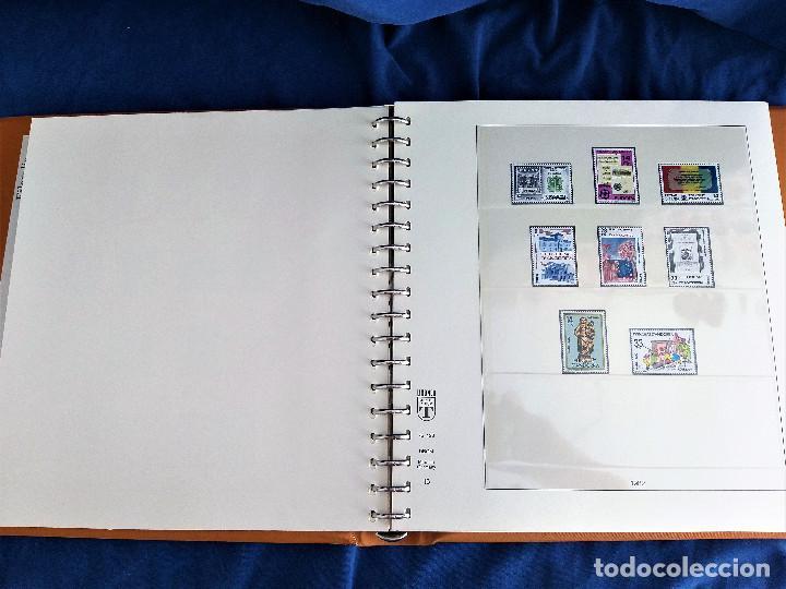 Sellos: Album Lujo Lidner ANDORRA España año 1948-1994 ANDORRA FRANCESA Año 1976-1989 Resto Coleccion Nuevo - Foto 16 - 254737840