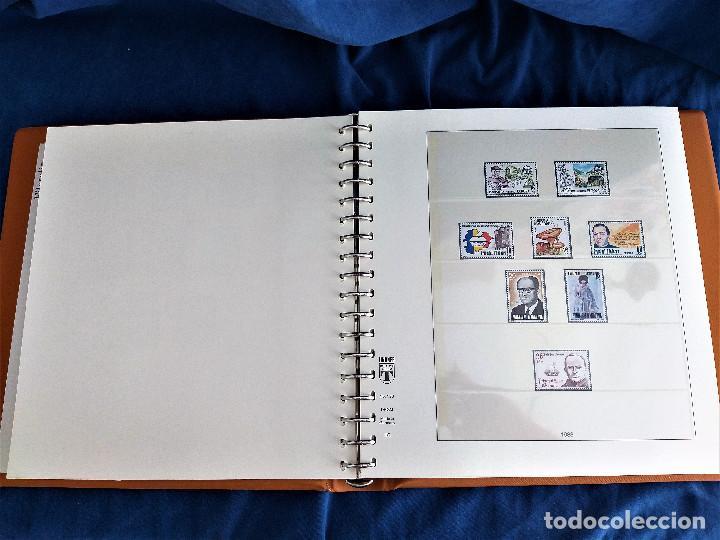 Sellos: Album Lujo Lidner ANDORRA España año 1948-1994 ANDORRA FRANCESA Año 1976-1989 Resto Coleccion Nuevo - Foto 17 - 254737840