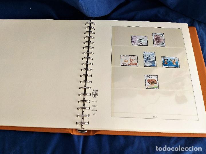 Sellos: Album Lujo Lidner ANDORRA España año 1948-1994 ANDORRA FRANCESA Año 1976-1989 Resto Coleccion Nuevo - Foto 19 - 254737840