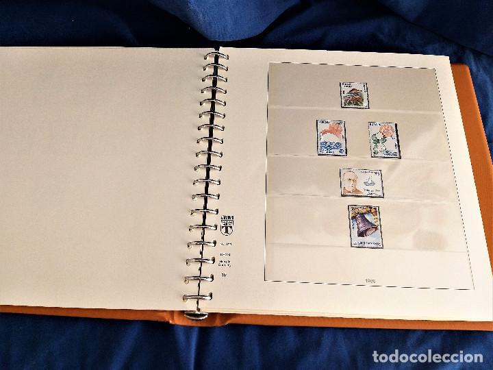 Sellos: Album Lujo Lidner ANDORRA España año 1948-1994 ANDORRA FRANCESA Año 1976-1989 Resto Coleccion Nuevo - Foto 20 - 254737840