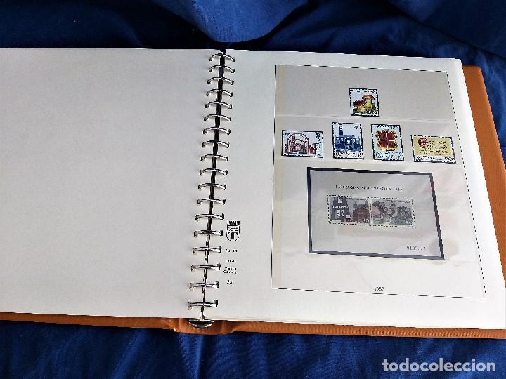 Sellos: Album Lujo Lidner ANDORRA España año 1948-1994 ANDORRA FRANCESA Año 1976-1989 Resto Coleccion Nuevo - Foto 21 - 254737840