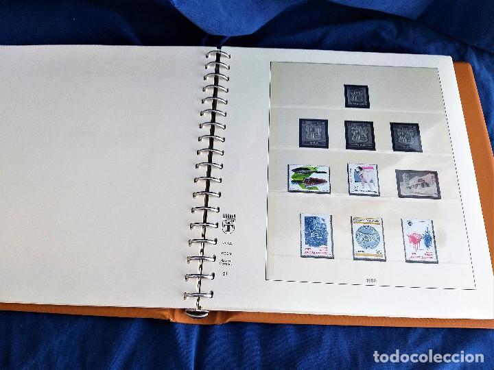 Sellos: Album Lujo Lidner ANDORRA España año 1948-1994 ANDORRA FRANCESA Año 1976-1989 Resto Coleccion Nuevo - Foto 22 - 254737840