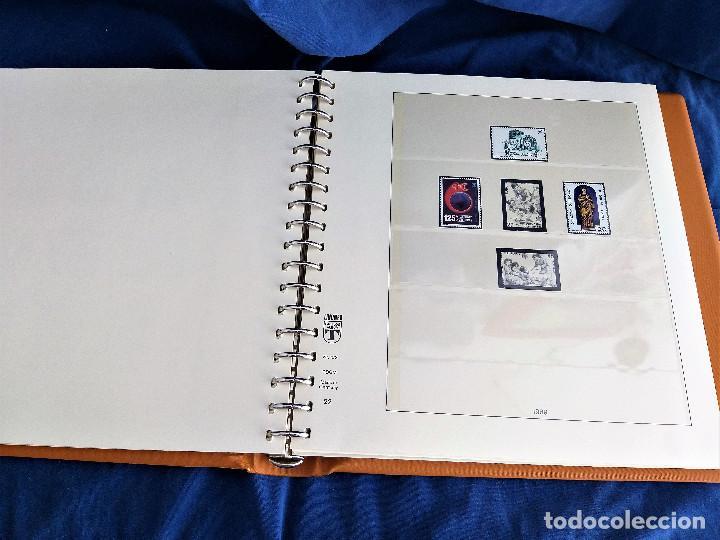 Sellos: Album Lujo Lidner ANDORRA España año 1948-1994 ANDORRA FRANCESA Año 1976-1989 Resto Coleccion Nuevo - Foto 23 - 254737840