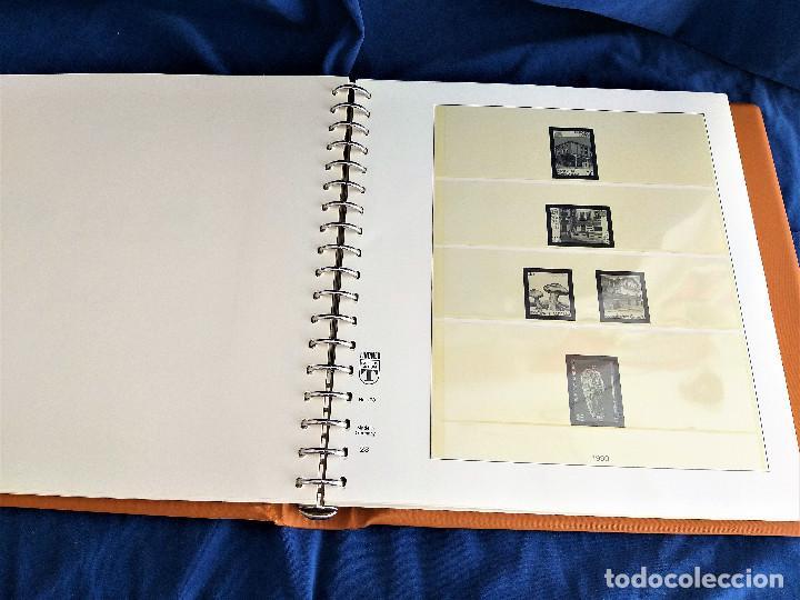 Sellos: Album Lujo Lidner ANDORRA España año 1948-1994 ANDORRA FRANCESA Año 1976-1989 Resto Coleccion Nuevo - Foto 24 - 254737840