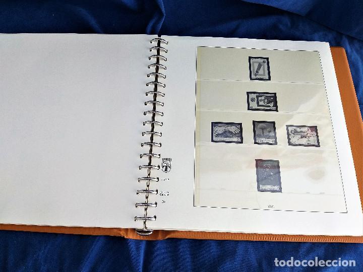 Sellos: Album Lujo Lidner ANDORRA España año 1948-1994 ANDORRA FRANCESA Año 1976-1989 Resto Coleccion Nuevo - Foto 25 - 254737840