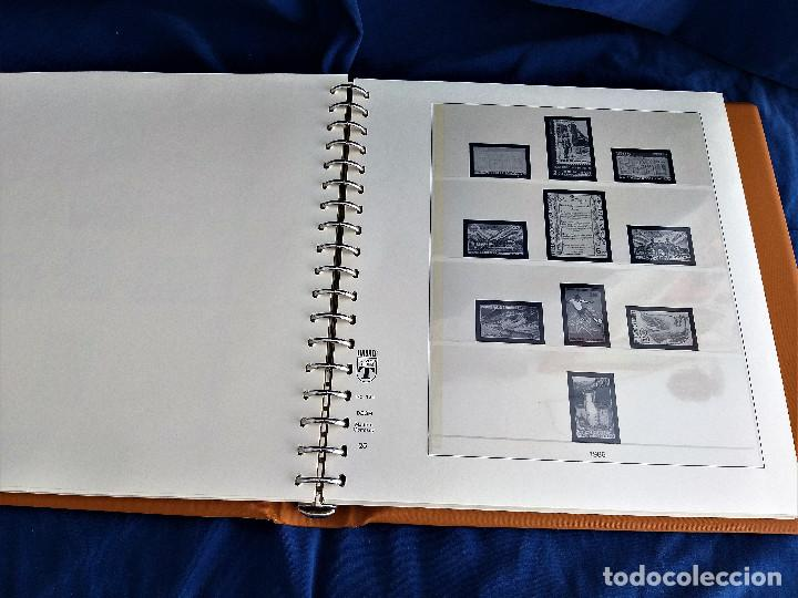 Sellos: Album Lujo Lidner ANDORRA España año 1948-1994 ANDORRA FRANCESA Año 1976-1989 Resto Coleccion Nuevo - Foto 26 - 254737840