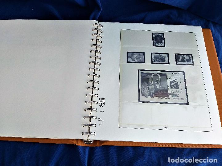 Sellos: Album Lujo Lidner ANDORRA España año 1948-1994 ANDORRA FRANCESA Año 1976-1989 Resto Coleccion Nuevo - Foto 27 - 254737840