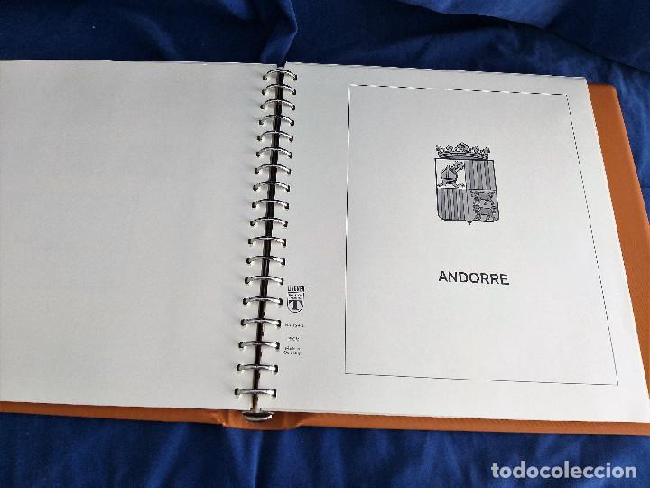 Sellos: Album Lujo Lidner ANDORRA España año 1948-1994 ANDORRA FRANCESA Año 1976-1989 Resto Coleccion Nuevo - Foto 28 - 254737840