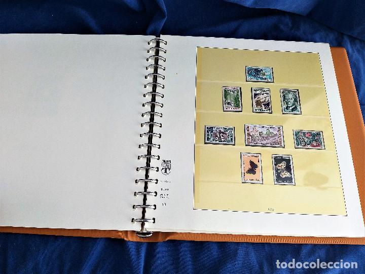 Sellos: Album Lujo Lidner ANDORRA España año 1948-1994 ANDORRA FRANCESA Año 1976-1989 Resto Coleccion Nuevo - Foto 29 - 254737840