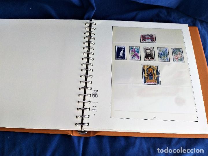 Sellos: Album Lujo Lidner ANDORRA España año 1948-1994 ANDORRA FRANCESA Año 1976-1989 Resto Coleccion Nuevo - Foto 31 - 254737840