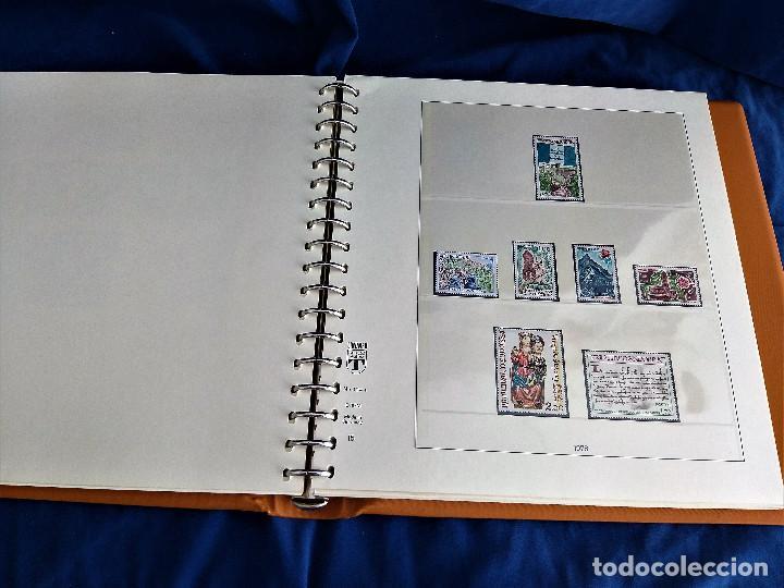 Sellos: Album Lujo Lidner ANDORRA España año 1948-1994 ANDORRA FRANCESA Año 1976-1989 Resto Coleccion Nuevo - Foto 32 - 254737840