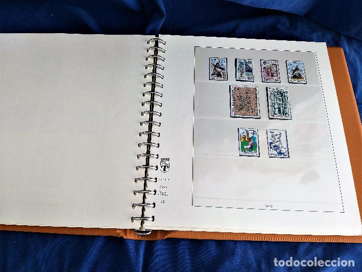 Sellos: Album Lujo Lidner ANDORRA España año 1948-1994 ANDORRA FRANCESA Año 1976-1989 Resto Coleccion Nuevo - Foto 33 - 254737840