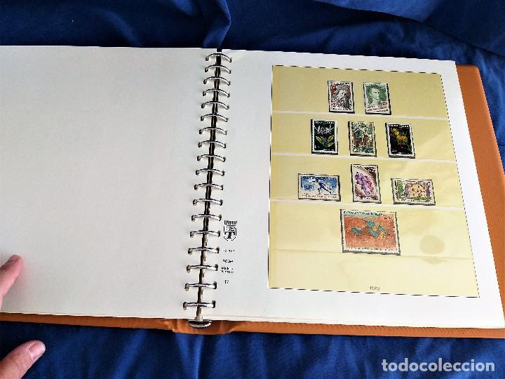 Sellos: Album Lujo Lidner ANDORRA España año 1948-1994 ANDORRA FRANCESA Año 1976-1989 Resto Coleccion Nuevo - Foto 34 - 254737840