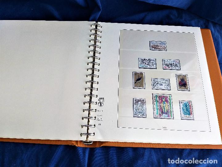 Sellos: Album Lujo Lidner ANDORRA España año 1948-1994 ANDORRA FRANCESA Año 1976-1989 Resto Coleccion Nuevo - Foto 35 - 254737840