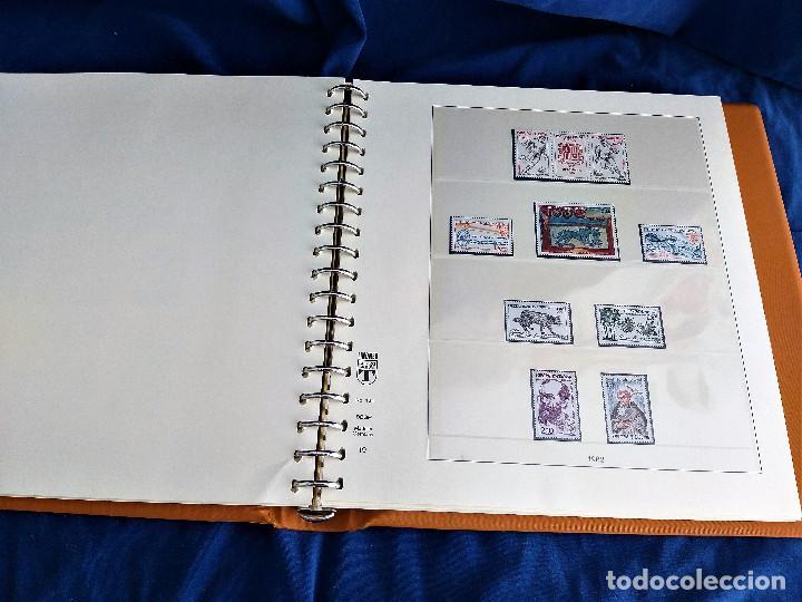 Sellos: Album Lujo Lidner ANDORRA España año 1948-1994 ANDORRA FRANCESA Año 1976-1989 Resto Coleccion Nuevo - Foto 36 - 254737840