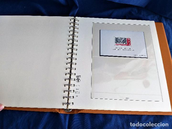 Sellos: Album Lujo Lidner ANDORRA España año 1948-1994 ANDORRA FRANCESA Año 1976-1989 Resto Coleccion Nuevo - Foto 37 - 254737840