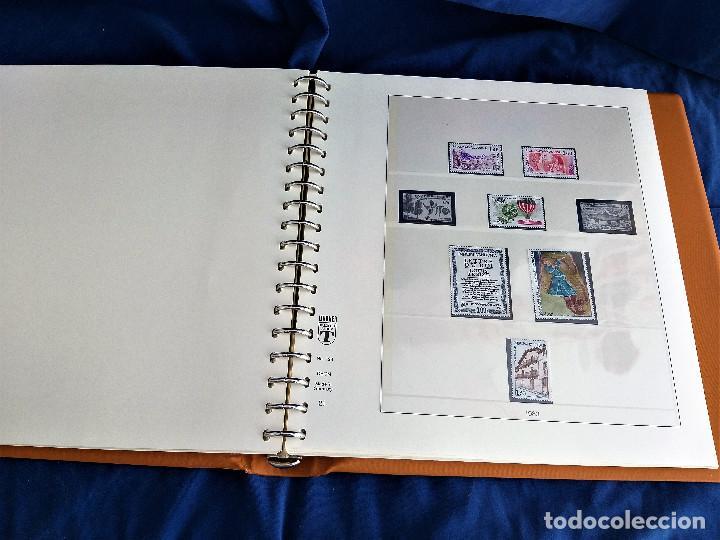 Sellos: Album Lujo Lidner ANDORRA España año 1948-1994 ANDORRA FRANCESA Año 1976-1989 Resto Coleccion Nuevo - Foto 38 - 254737840