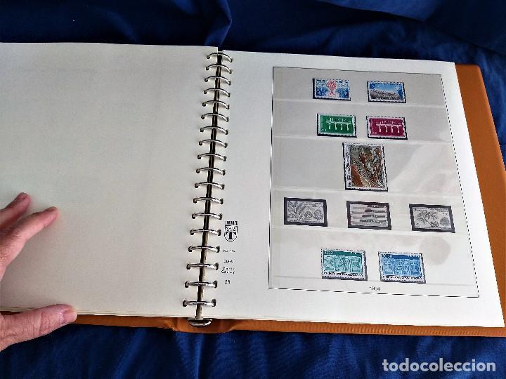 Sellos: Album Lujo Lidner ANDORRA España año 1948-1994 ANDORRA FRANCESA Año 1976-1989 Resto Coleccion Nuevo - Foto 40 - 254737840