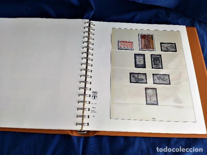 Sellos: Album Lujo Lidner ANDORRA España año 1948-1994 ANDORRA FRANCESA Año 1976-1989 Resto Coleccion Nuevo - Foto 41 - 254737840