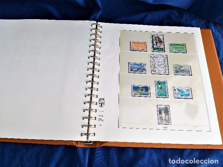 Sellos: Album Lujo Lidner ANDORRA España año 1948-1994 ANDORRA FRANCESA Año 1976-1989 Resto Coleccion Nuevo - Foto 44 - 254737840