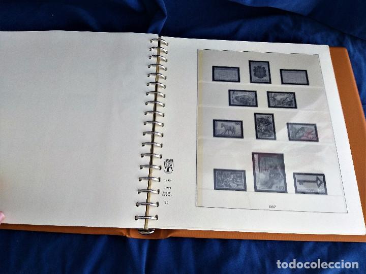 Sellos: Album Lujo Lidner ANDORRA España año 1948-1994 ANDORRA FRANCESA Año 1976-1989 Resto Coleccion Nuevo - Foto 45 - 254737840