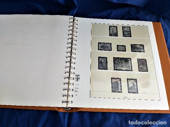 Sellos: Album Lujo Lidner ANDORRA España año 1948-1994 ANDORRA FRANCESA Año 1976-1989 Resto Coleccion Nuevo - Foto 46 - 254737840