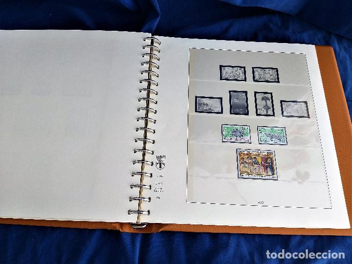 Sellos: Album Lujo Lidner ANDORRA España año 1948-1994 ANDORRA FRANCESA Año 1976-1989 Resto Coleccion Nuevo - Foto 47 - 254737840