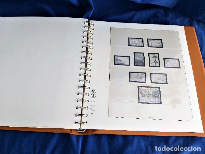 Sellos: Album Lujo Lidner ANDORRA España año 1948-1994 ANDORRA FRANCESA Año 1976-1989 Resto Coleccion Nuevo - Foto 48 - 254737840