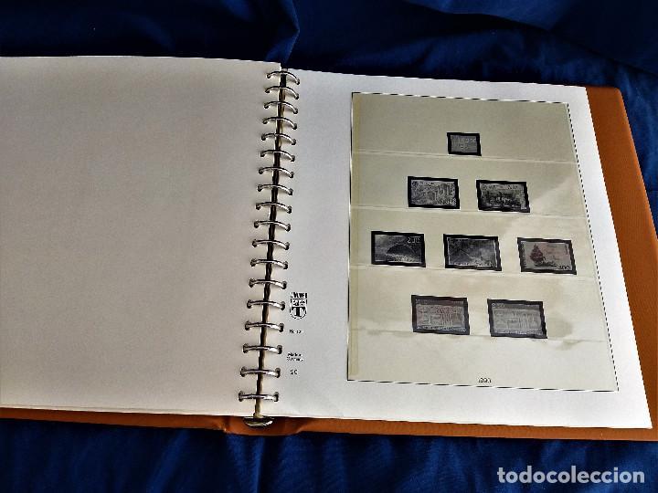 Sellos: Album Lujo Lidner ANDORRA España año 1948-1994 ANDORRA FRANCESA Año 1976-1989 Resto Coleccion Nuevo - Foto 49 - 254737840