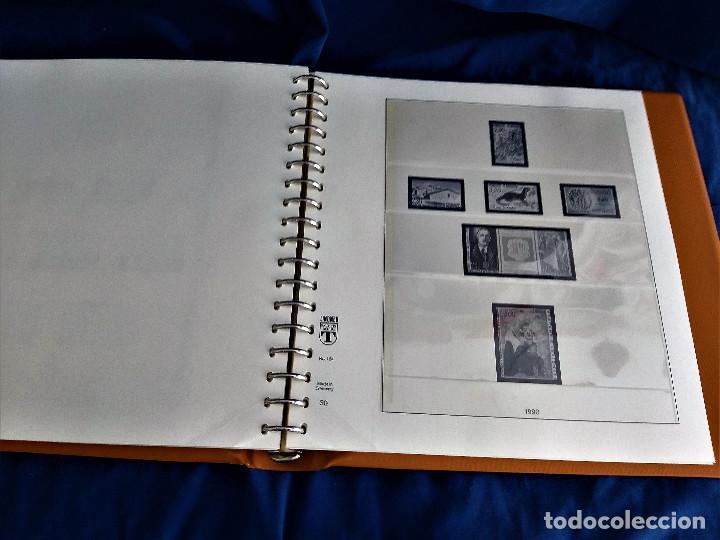 Sellos: Album Lujo Lidner ANDORRA España año 1948-1994 ANDORRA FRANCESA Año 1976-1989 Resto Coleccion Nuevo - Foto 50 - 254737840