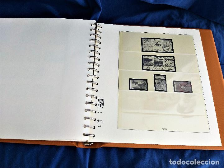 Sellos: Album Lujo Lidner ANDORRA España año 1948-1994 ANDORRA FRANCESA Año 1976-1989 Resto Coleccion Nuevo - Foto 52 - 254737840