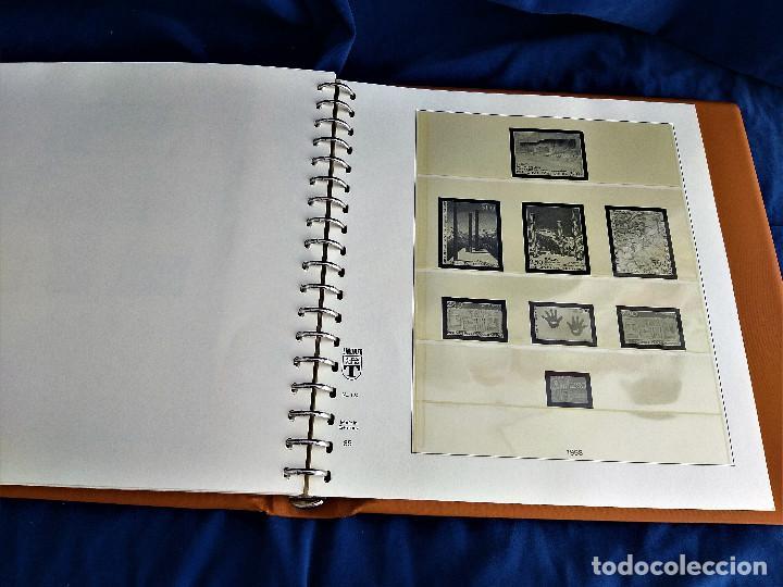 Sellos: Album Lujo Lidner ANDORRA España año 1948-1994 ANDORRA FRANCESA Año 1976-1989 Resto Coleccion Nuevo - Foto 53 - 254737840