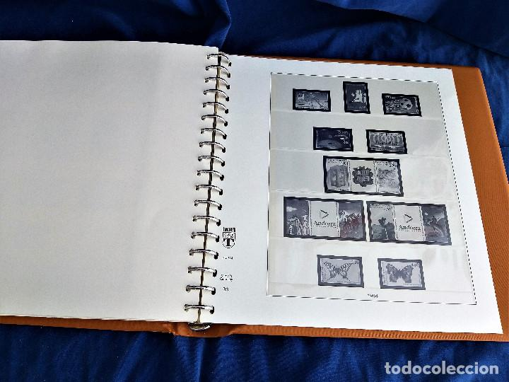 Sellos: Album Lujo Lidner ANDORRA España año 1948-1994 ANDORRA FRANCESA Año 1976-1989 Resto Coleccion Nuevo - Foto 54 - 254737840
