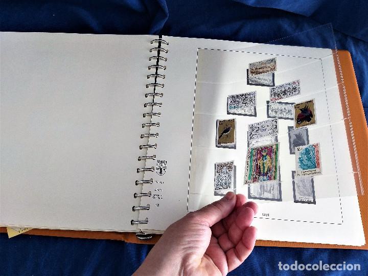 Sellos: Album Lujo Lidner ANDORRA España año 1948-1994 ANDORRA FRANCESA Año 1976-1989 Resto Coleccion Nuevo - Foto 57 - 254737840