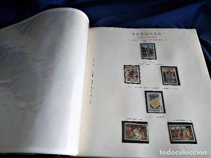 Sellos: Andorra España Francia lote album sellos nuevo ***/* - Foto 5 - 257722545