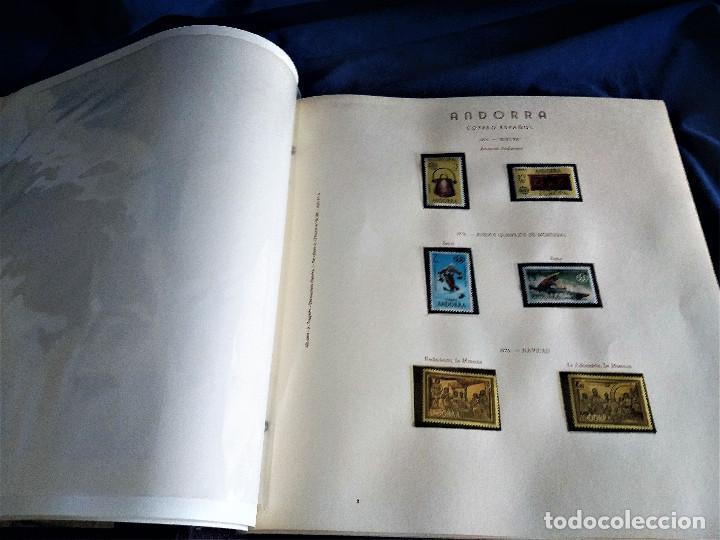 Sellos: Andorra España Francia lote album sellos nuevo ***/* - Foto 6 - 257722545
