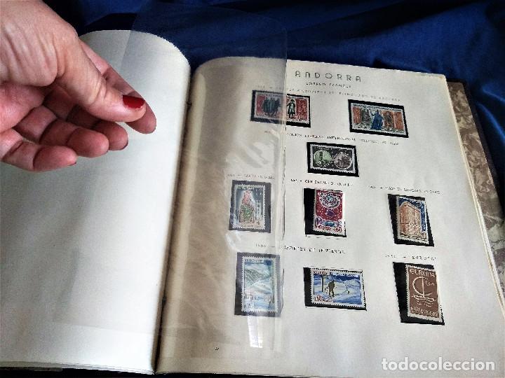 Sellos: Andorra España Francia lote album sellos nuevo ***/* - Foto 8 - 257722545