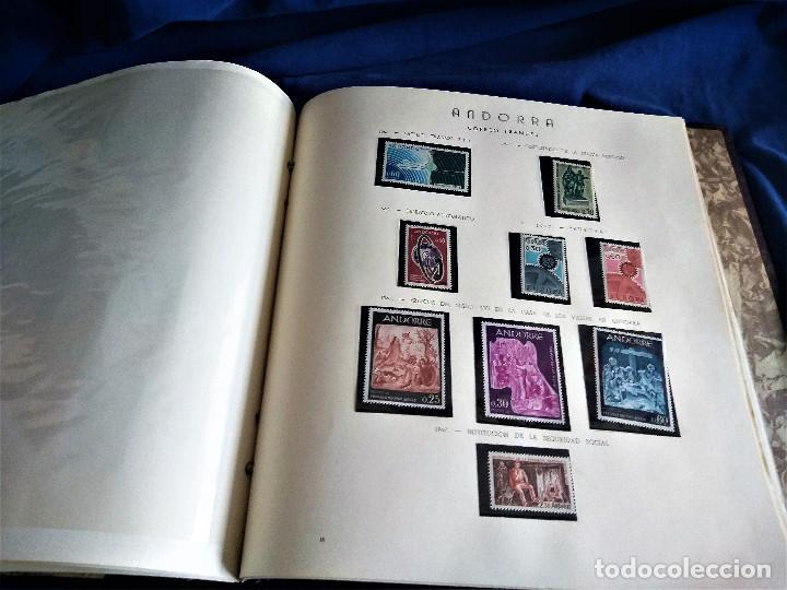 Sellos: Andorra España Francia lote album sellos nuevo ***/* - Foto 9 - 257722545