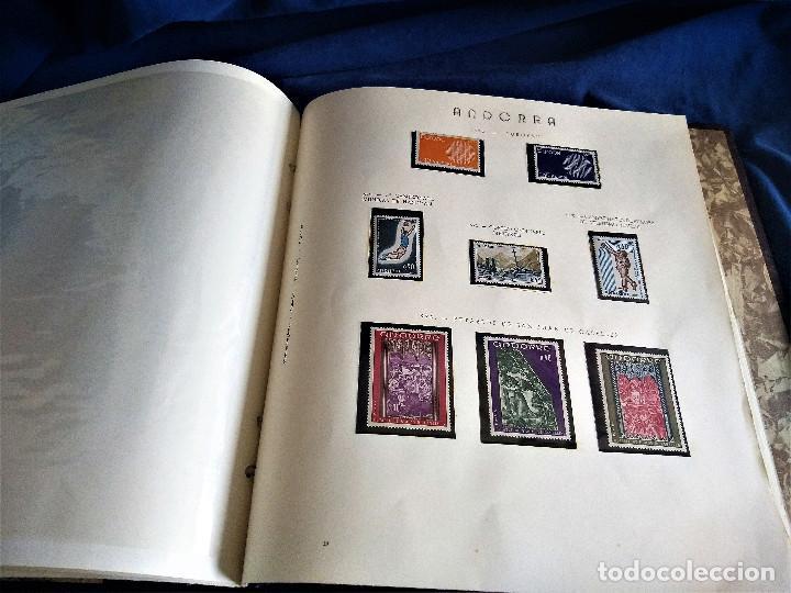 Sellos: Andorra España Francia lote album sellos nuevo ***/* - Foto 11 - 257722545