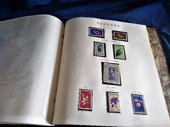 Sellos: Andorra España Francia lote album sellos nuevo ***/* - Foto 14 - 257722545