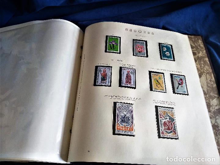 Sellos: Andorra España Francia lote album sellos nuevo ***/* - Foto 15 - 257722545