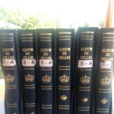 Francobolli: 6 ALBUMS SELLOS JUAN CARLOS I 1975-2010 COMPLETOS NUEVOS. Lote 259277860