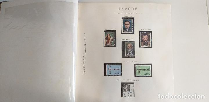 ESPAÑA ALBUM RESTO COLECCIÓN SELLOS AÑOS 1970 A 1976 (Sellos - Colecciones y Lotes de Conjunto)