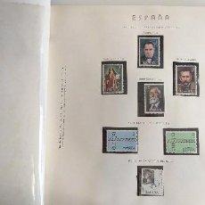 Sellos: ESPAÑA ALBUM RESTO COLECCIÓN SELLOS AÑOS 1970 A 1976. Lote 260072830