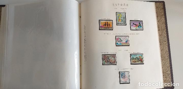 Sellos: España Album Resto Colección sellos años 1970 a 1976 - Foto 40 - 260072830