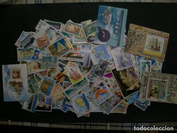/02.05/-LIQUIDACION-BARCOS/2/-500 DIFERENTES EN USADO/º/ & NUEVO(**MNH) (Sellos - Colecciones y Lotes de Conjunto)