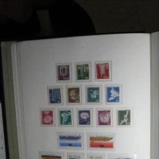 Francobolli: ALEMANIA ÁLBUM BOREK SELLOS 1960-1976 MNH** EN HOJAS MONTADAS PROTECTORES TRANSPARENTES DE LUJO!!!. Lote 260738125