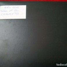 Sellos: COLECCION SOBRES 1º DIA AÑO 2011 COMPLETO MONTADA EN CLASIFICADOR. Lote 261545505