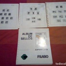 Sellos: RESTO DE HOJAS SELLOS AÑOS 1977/78/79/80 VER.. Lote 261566870