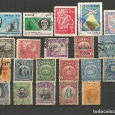 Francobolli: BOLIVIA CONJUNTO DE SELLOS USADOS. Lote 261601425